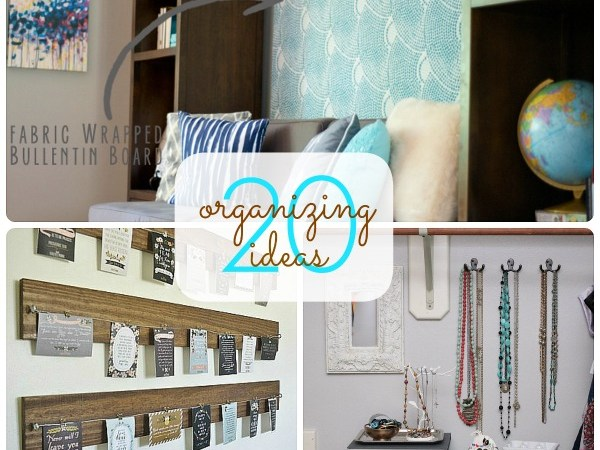 Great Ideas — 20 Ways to Get Organized for Fall!