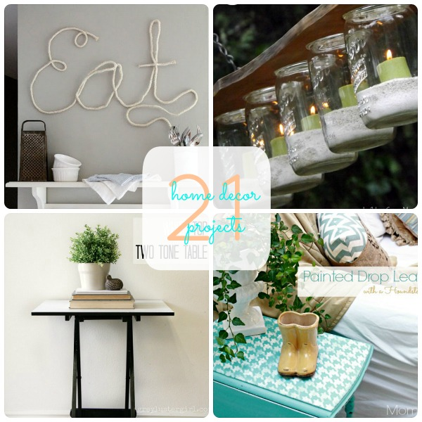 Great Home Decor Ideas: Great Ideas -- 21 Home Decor Projects