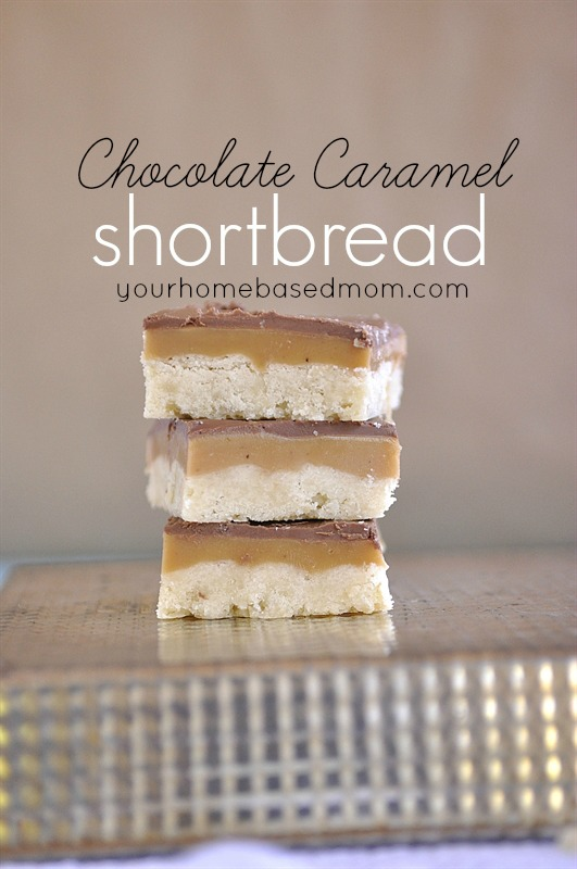 Chocolate Caramel Shortbread