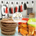 Great Ideas — 20 Football Game Day Ideas & Recipes!