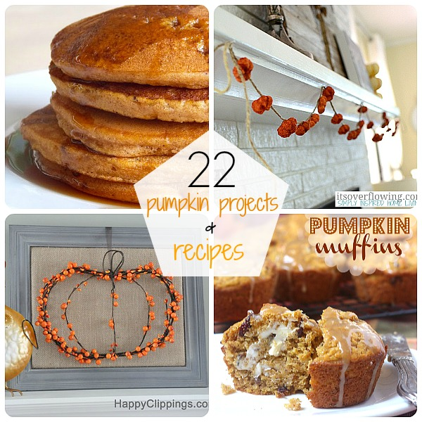 22 Pumpkin Projects and Recipes