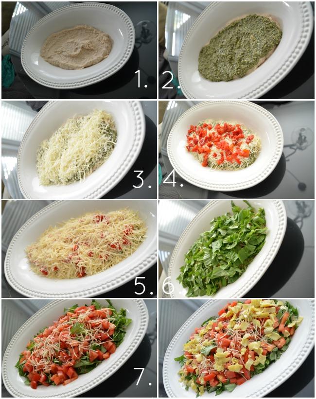 7 layer italian dip