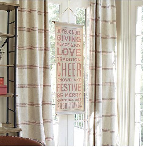 ballard design holiday sign