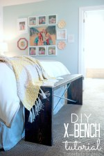 Make a Metal and Wood X-Bench! (tutorial)