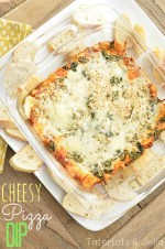 Super Yummy Pizza Cheese Dip (Recipe)!