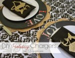 Happy Holidays: DIY Holiday Chargers