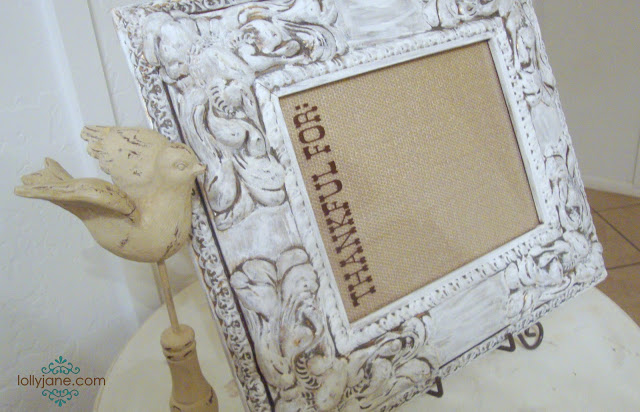 dry erase picture frame #gluenglitter (1)