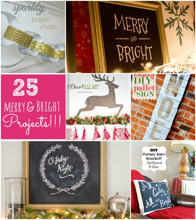 25 merry and bright projects