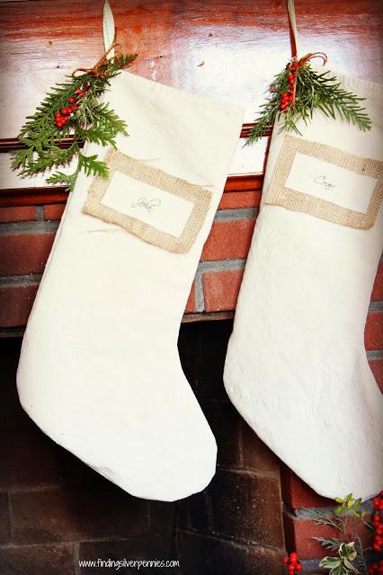 dropcloth stockings