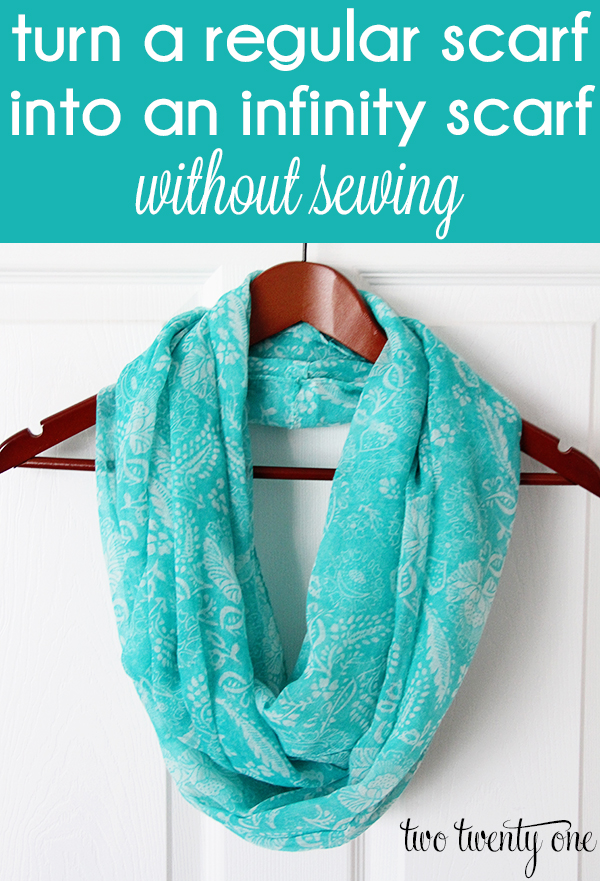 turn-a-regular-scarf-into-an-infinity-scarf-without-sewing1