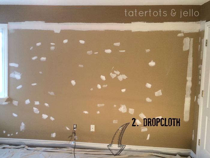 2. dropcloth