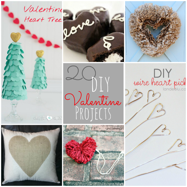 Great Ideas -- 20 Valentine's Day DIY Projects