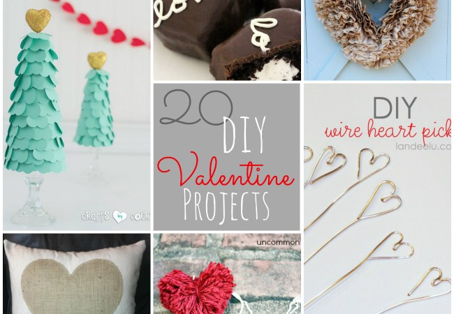Great Ideas — 20 Valentine's Day DIY Projects!!