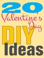 Bonnes idées - 20 idées de bricolage pour la Saint-Valentin !!