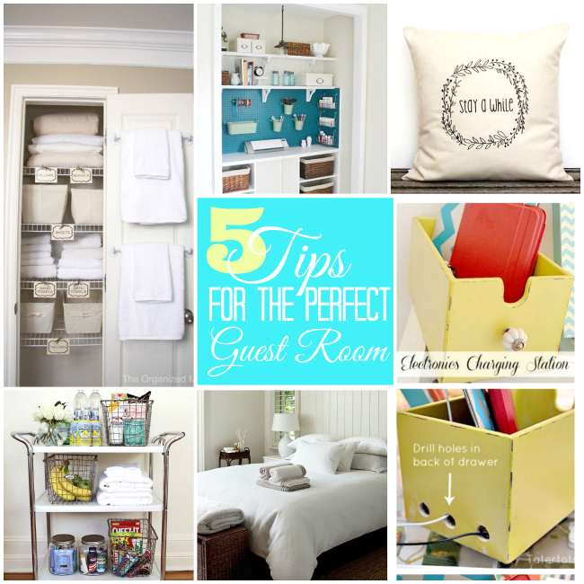 5 tips for the perfect guest room