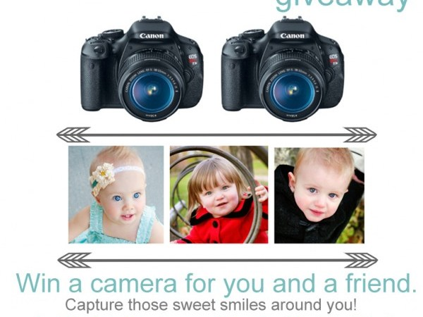 Win A DSLR Camera – And One For A Friend!!