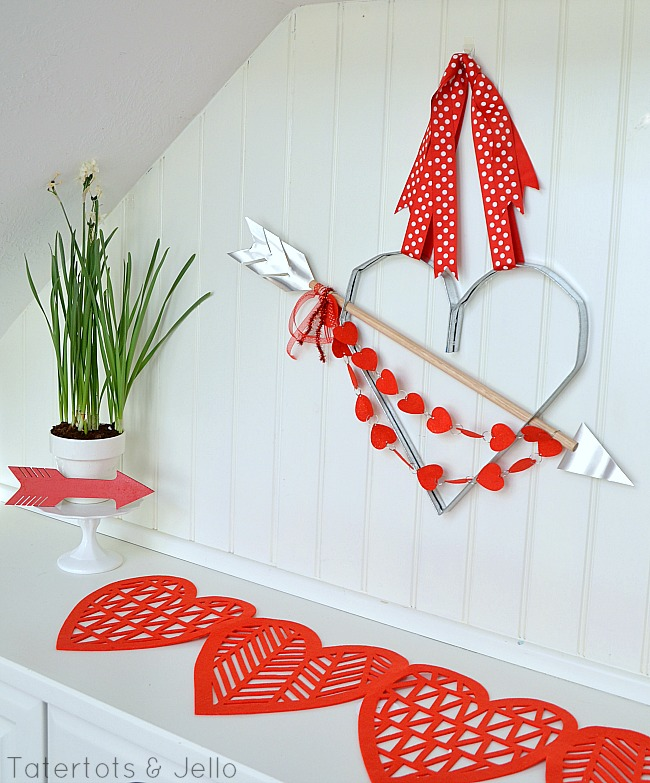 industrial heart wreath diy