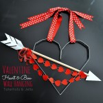 Create a Valentine Heart and Arrow Aluminum Wall Hanging!