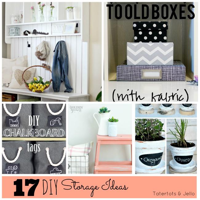 17 diy storage ideas