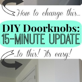 DIY Doorknobs: Secrets to a 15-Minute Update