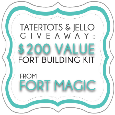 Win a Fort Magic Construction Kit for Kids! ($200 value)