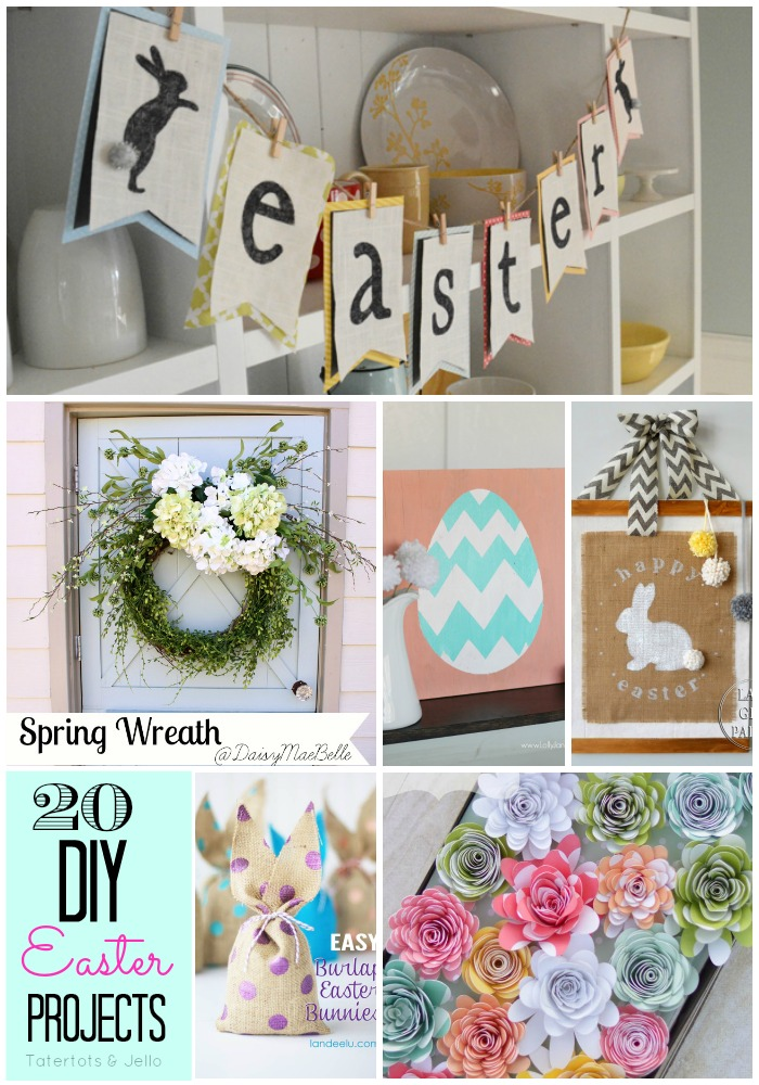 20 diy easter projects at tatertots and jello