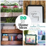 Great Ideas — 20 DIY Home Projects!