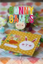 Free Kids' Easter Printable: Bunny Games!