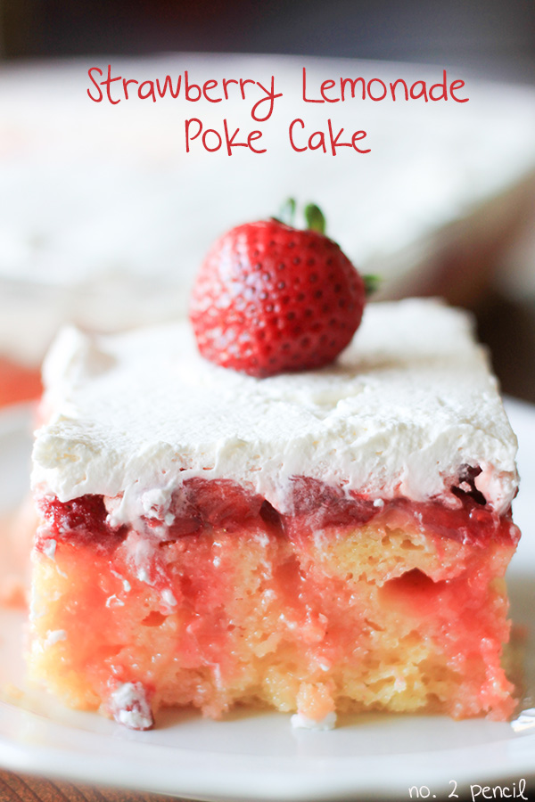 Strawberry-Lemonade-Poke-Cake