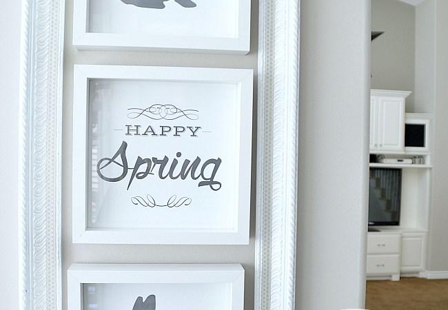 Free Happy Spring/Easter Printables !