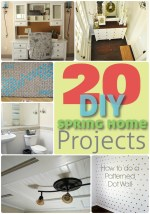 Great Ideas — 20 Spring Home DIY Projects!