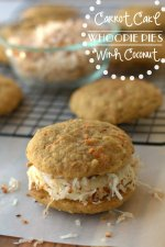 Carrot Cake Whoopie Pies with Coconut!!