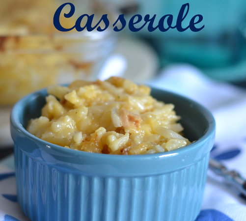 Cheesy Hashbrown Casserole!!