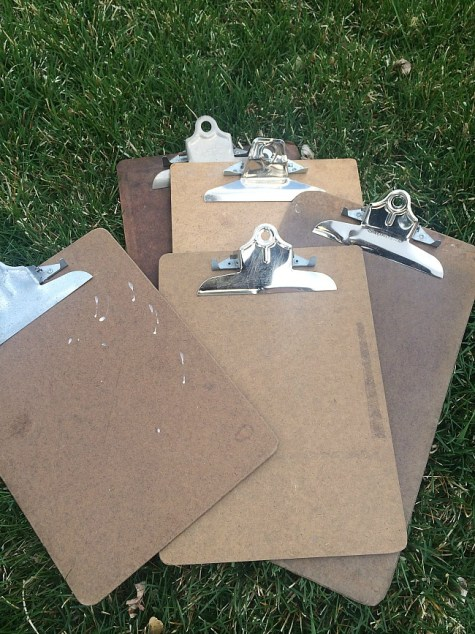 clipboards before