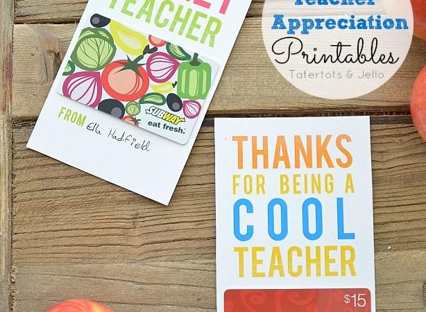 Teacher Appreciation Giveaway ($1000 value)!!