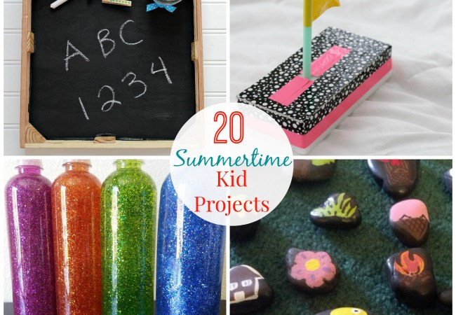 Great Ideas — 20 Summertime DIY Kids Projects!