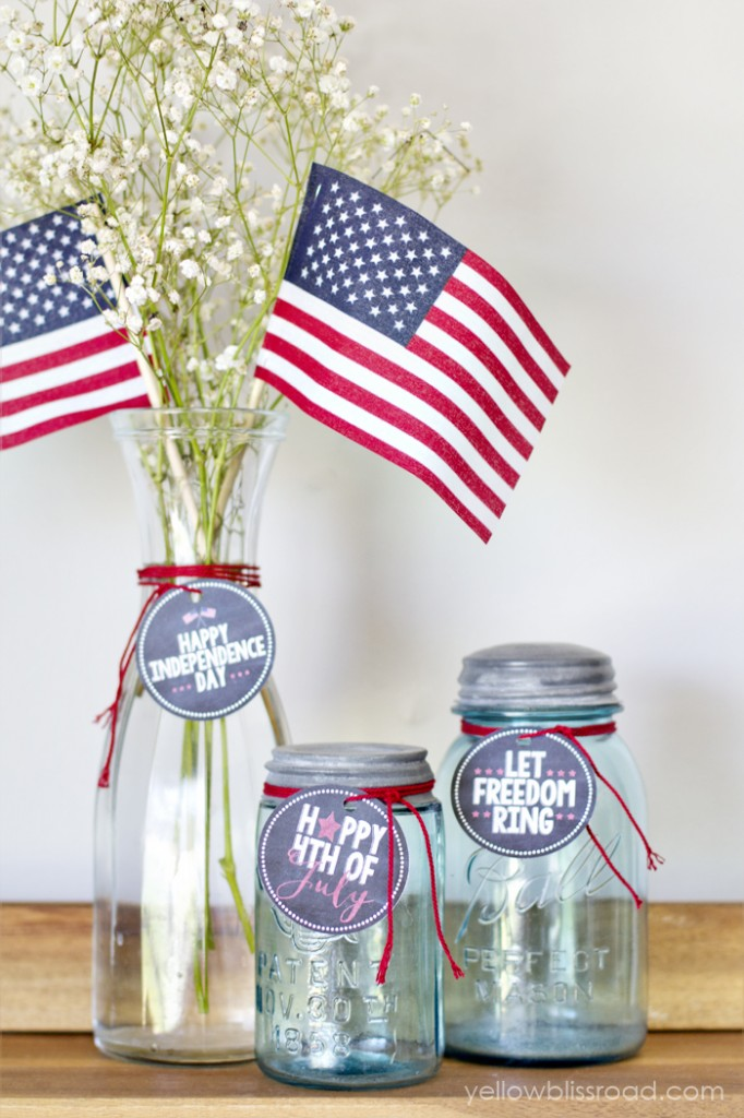 Fourth of July Chalkboard Tags-2