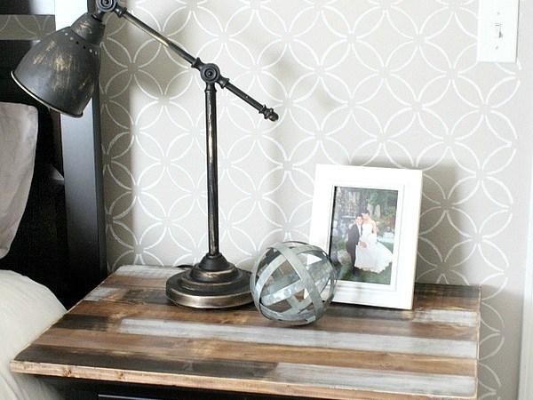 IKEA Lamp Hack: Faux Antique Finish