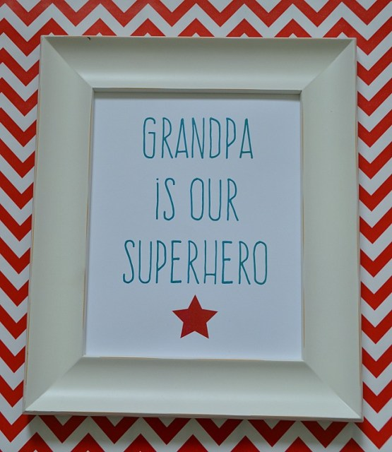 grandpa superhero free printable from tatertots and jello