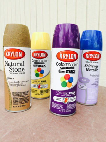 krylon paint pallet 2