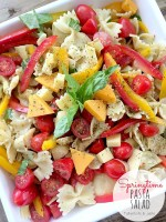 Fresh Springtime Veggie Pasta Salad Recipe