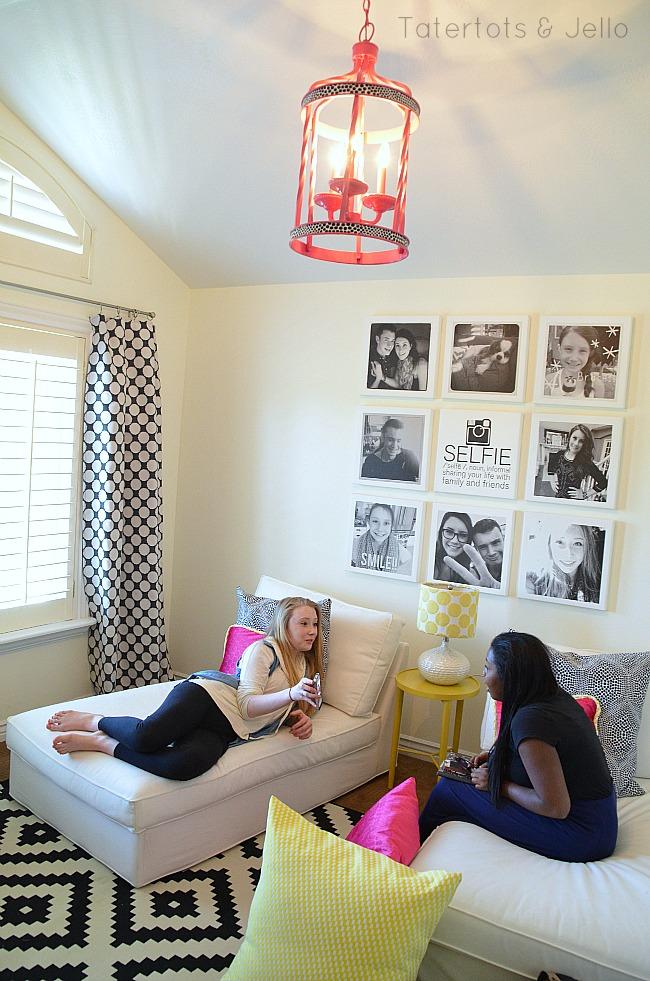 Teen Tween Hangout Room Reveal Inawaverlyworld Tatertots And Jello