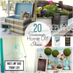 Great Ideas — 20 Summer Home DIY Ideas!