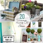 Great Ideas — 20 Summer Home DIY Ideas!
