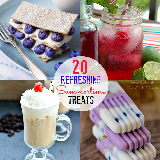 20 summertime treat recipes
