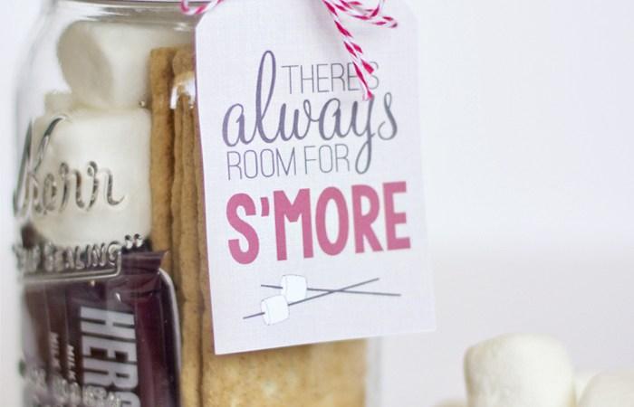 Free Printable S'Mores Gift Tag!