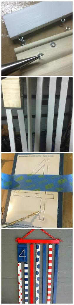 flag steps