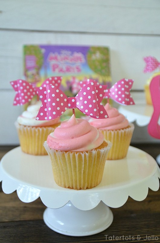 free printable minnie mouse paper bows for parties