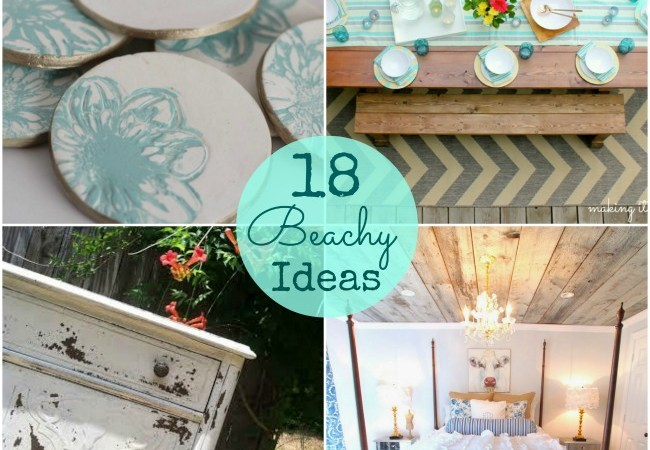 Great Ideas — 18 Summertime Beach-inspired Ideas!