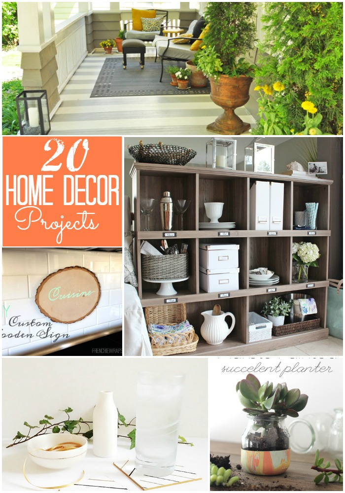 Diy Home Decor Crafts Pinterest
